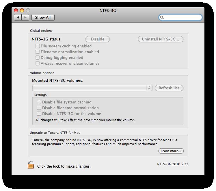 TUXERA NTFS 3G MAC OS СКАЧАТЬ БЕСПЛАТНО